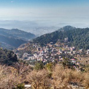 El pueblo de Baghsu desde arriba
