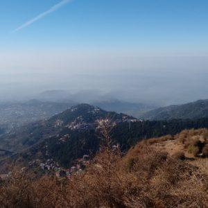 Una pena que la niebla tapara el horizonte