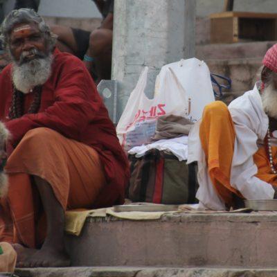 Los saddhus no se dejan fotografiar gratis normalmente, pero siempre se puede conseguir algún robado