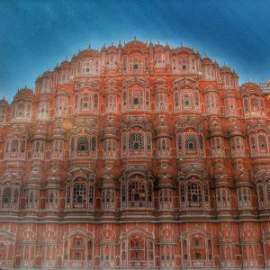 El Hawa Mahal, una fachada imponente donde las haya