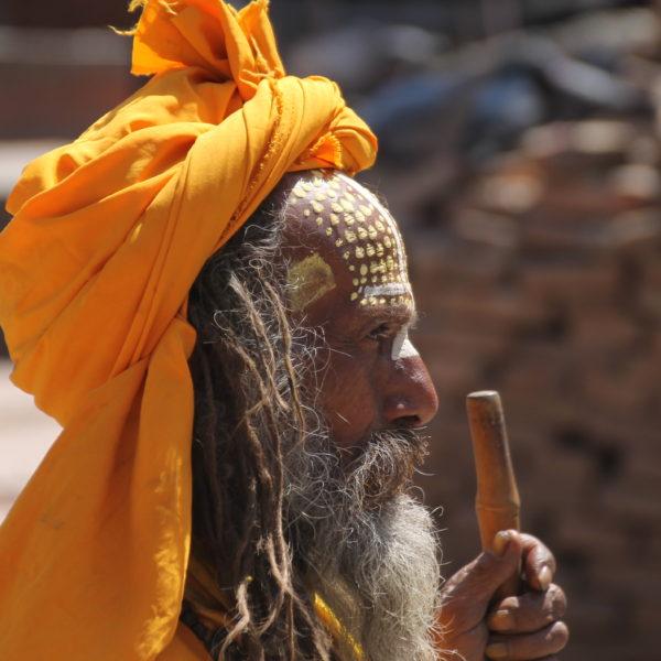 También encontramos Saddhus en Katmandú