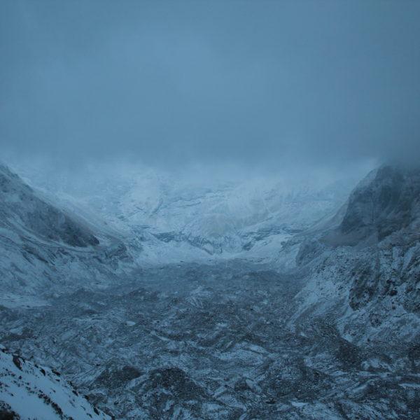 Ésto es lo máximo que hemos podido ver del Annapurna