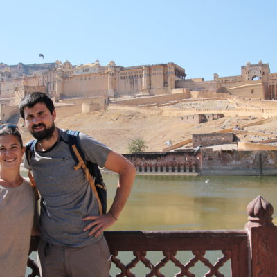 El Fuerte de Agra impresiona más por fuera que por dentro