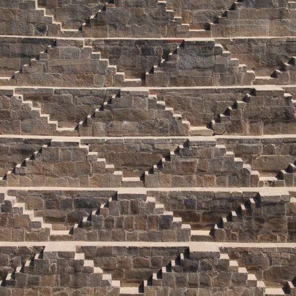 Perfectas escaleras en forma de minitriángulos
