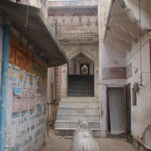 Uno de los montones de templos escondidos de Pushkar