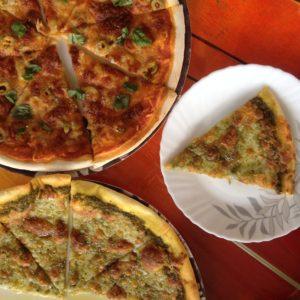 Las pizzas del Nirvana, en Pushkar, tampoco estaban nada mal