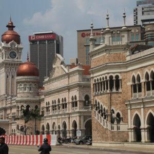 Edificio del sultán Abdul Samad en la Dataran Merdeka