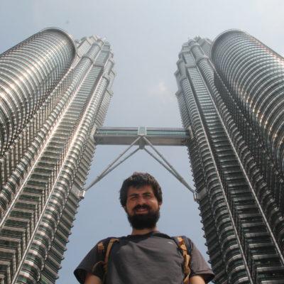Increíble la vista justo desde debajo de las Torres Petronas