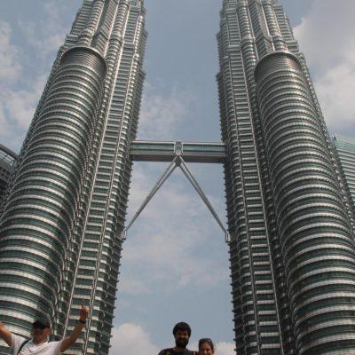 Como veis, fue imposible sacar una foto sin gente en las Petronas