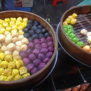 Dim Sum: estas bolas de masa de sabores diferentes cocinados al vapor y de origen chino