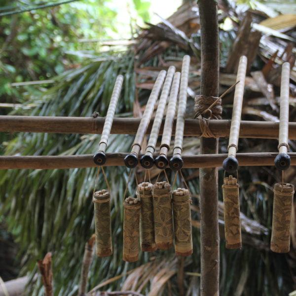 Las cervatanas de los nativos Orang Asli