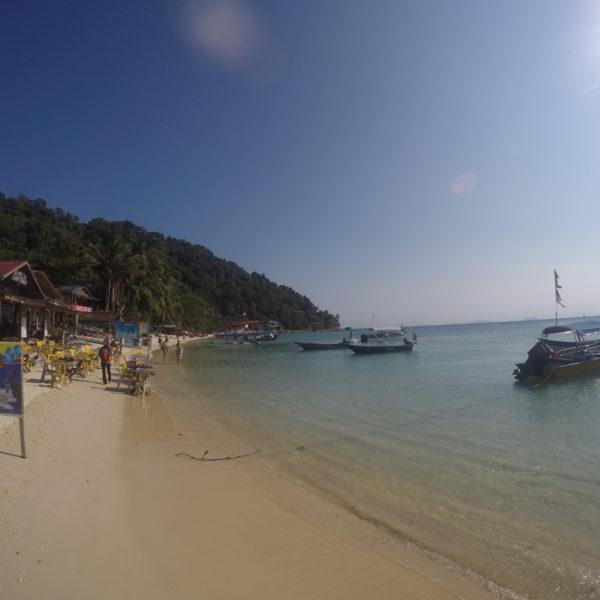La tranquila Coral Bay