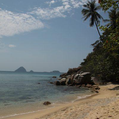 Como todas las calas de esta isla, la playa Adan y Eva resultó también paradisíaca