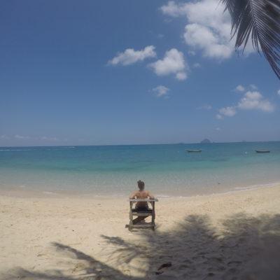 Rainforest Beach, en el paraíso nada más despertar y casi sin gente