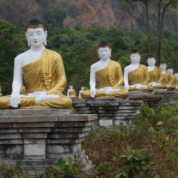 Las cuevas de Hpa-An y el Buddha reclinado de Bago (días 92-94)