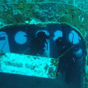 """En la cabina del capitán había un pequeño espacio de aire donde se podía """"respirar"""" una bocanada"""