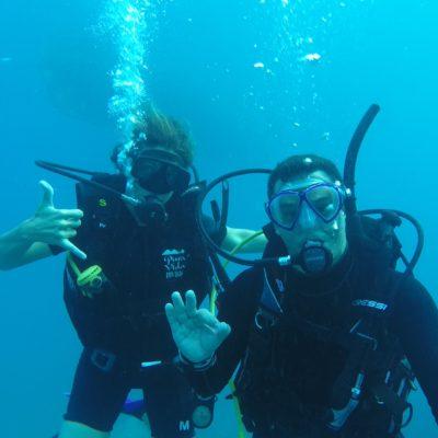 Bajo el mar con Jacinto