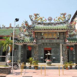 Pero son los templos chinos lo que nosotros más vimos y más nos llamó la atención