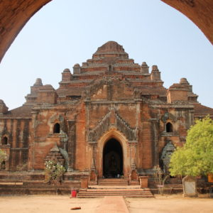 Dhama-yangyi, es uno de los templos más llamativos por su forma piramidal