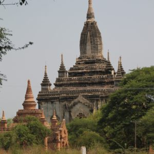 El Shwe Gu Gyi Phaya es el más conocido para el atardecer, aunque es fácil que esté lleno de turistas