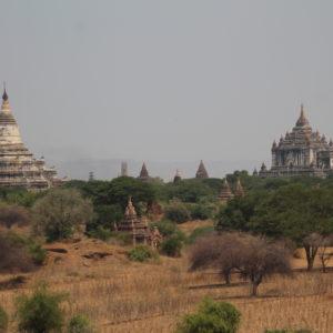 Ver grandes templos en el horizonte es increíble