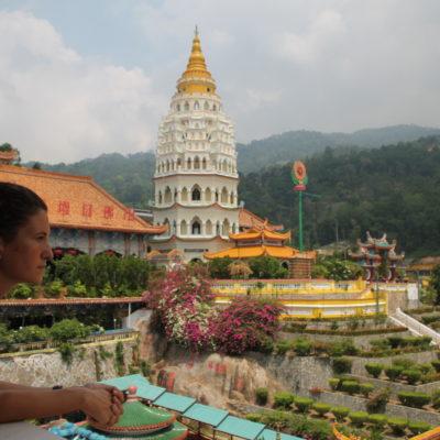 No podía faltar la pagoda desde donde se tienen preciosas vistas