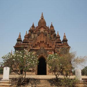 Encontramos este templo buscando un lugar para el atardecer, pero el acceso al techo estaba cerrado