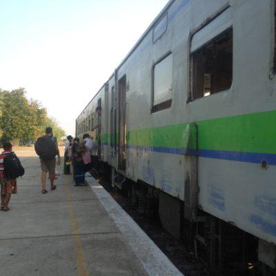 Escogimos el tren de clase superior, porque la diferencia de precio era muy pequeña