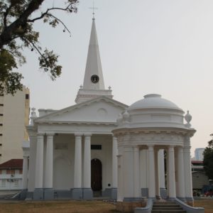 Una iglesia cristiana en Penang