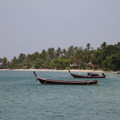 La zona más paradisíaca de Koh Mook, que está lleno de bungalows