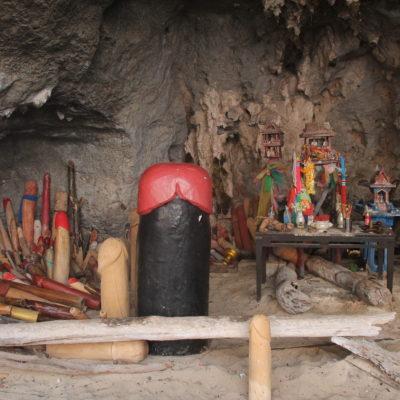 La cueva de los penes, teóricamente para invocar la fertilidad y esas cosas