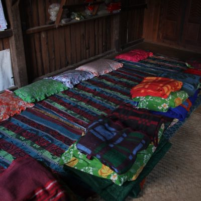 Nuestras camas y mantas para no pasar frío en la fresca noche
