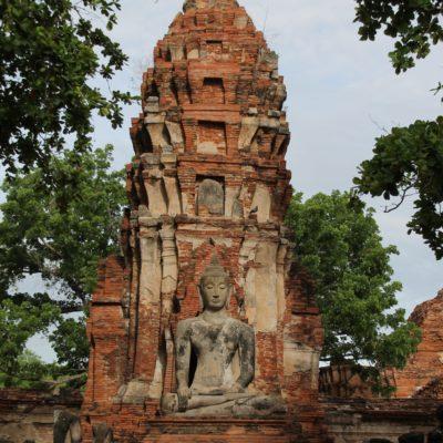 Torres, buddhas y pagodas se reparten por todo Ayutthaya