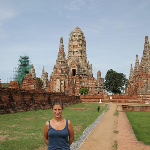 Wat Chai Wattanaram, el templo que más nos gustó