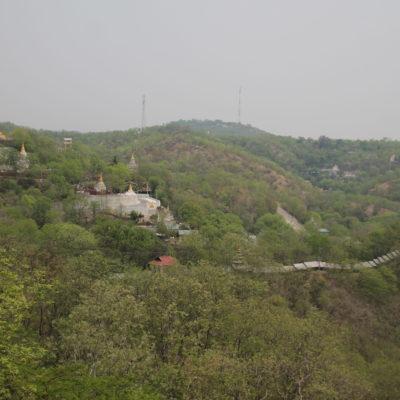 Las verdes vistas del Sagaing Hill