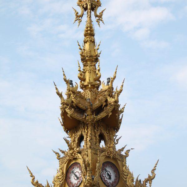 La Torre del Reloj ya es un avance del estilo del Templo Blanco