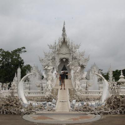 El Templo Blanco es impresionante ya a primera vista