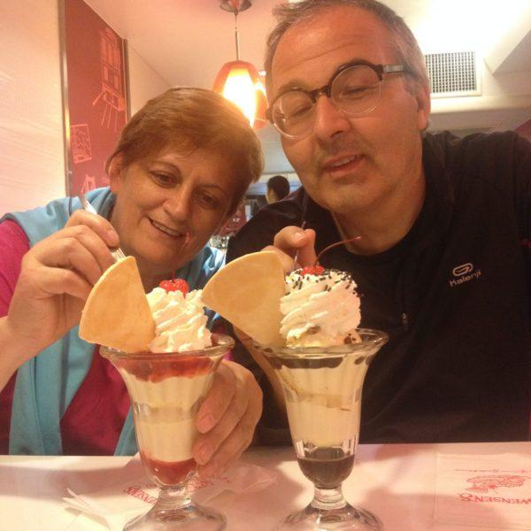 La heladería Swensen's no nos defraudó