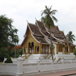 Los templos de Laos tienen el mismo estilo que los de Tailandia