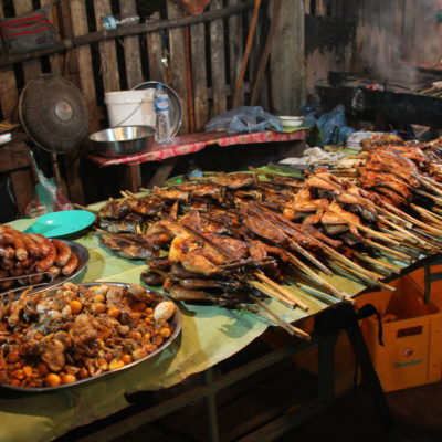 El pescado y las carnes a la brasa también tenían su éxito