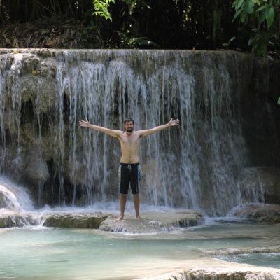En otras partes el salto coge más forma de cascada