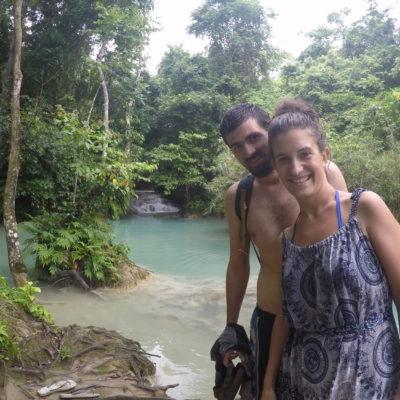 las cascadas Kuang Si son un regalo de la naturaleza