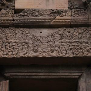 Aunque la mayor parte de los templos están en ruinas, algunos detalles se mantienen bastante bien