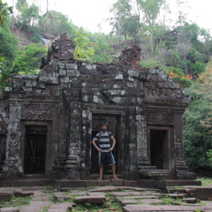 Una de las cosas que más nos gustó fue este pequeño templo escondido en la parte de arriba