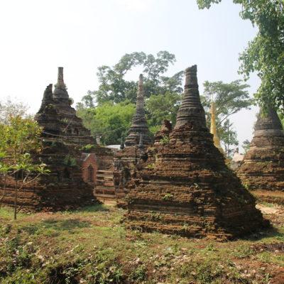 Little Bagan no será tan espectacular como Bagan, pero tiene su encanto