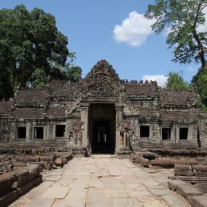 Preah Khan está bastante bien conservado
