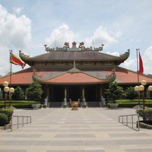 El templo de Cu Chi, cerca de los túneles