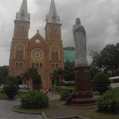 La catedral Notre Dame de Ho Chi Minh