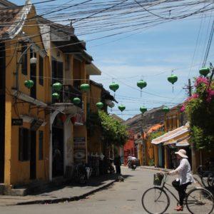 A ratos en las calles de Hoi An se respiraba cierta tranquilidad