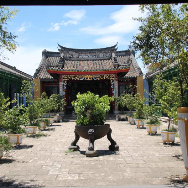 Un templo típico de Hoi An